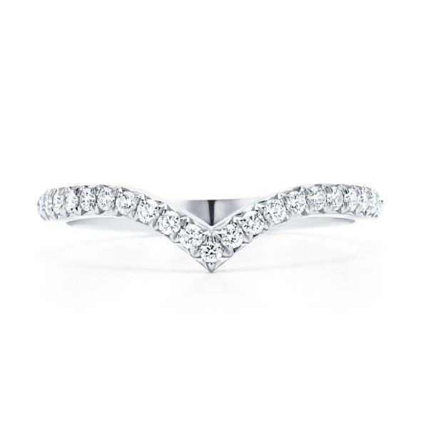 ティファニー TIFFANY 指輪 リング プラチナ ダイヤモンド V