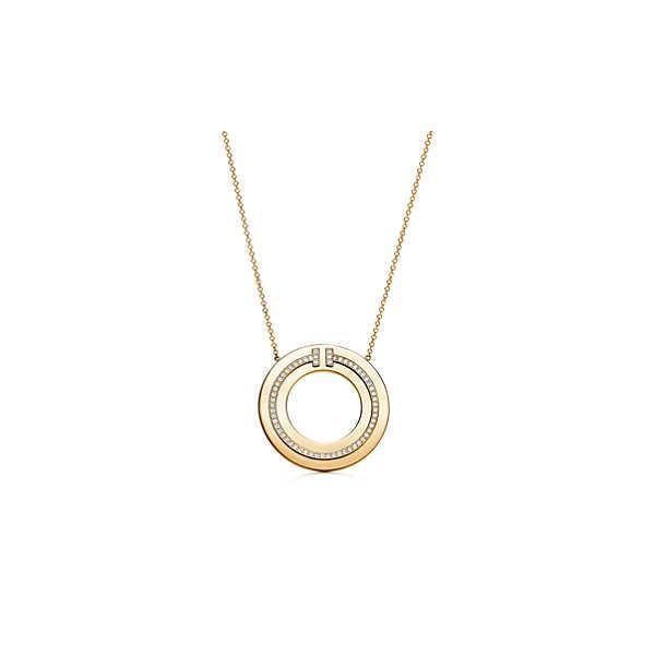 ティファニー TIFFANY ネックレス ゴールド 18K ダイヤモンド