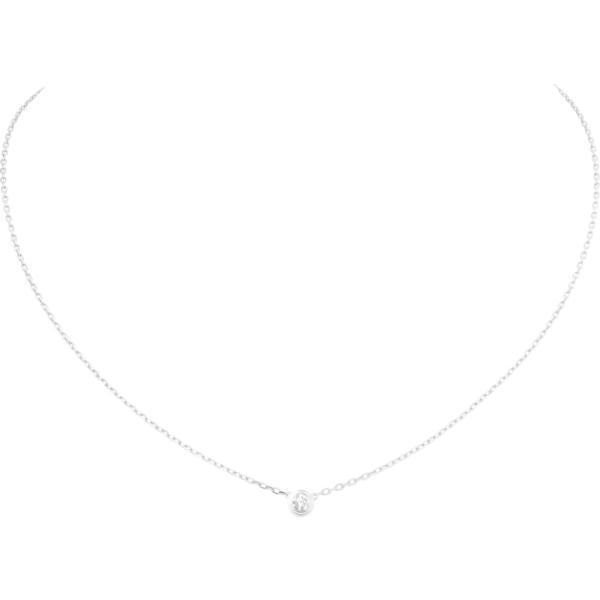 カルティエ CARTIER ネックレス ホワイトゴールド 18K ダイヤモンド LM