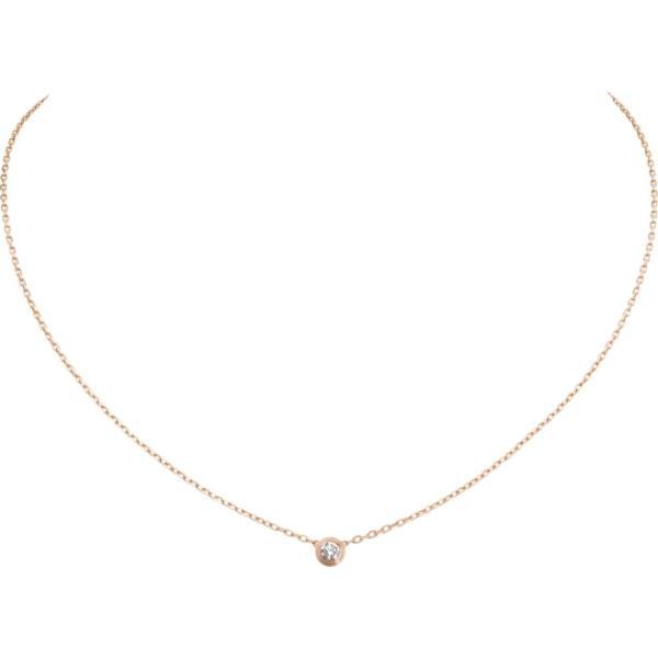 カルティエ CARTIER ネックレス ピンクゴールド 18K ダイヤモンド SM