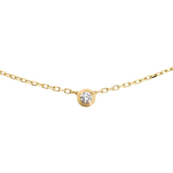 カルティエ CARTIER ネックレス イエローゴールド 18K ダイヤモンド SM