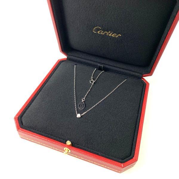 カルティエ CARTIER ネックレス ホワイトゴールド 18K ダイヤモンド SM