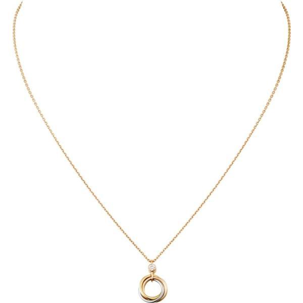 カルティエ CARTIER ネックレス ホワイトゴールド イエローゴールド ピンクゴールド 18K ダイヤモンド