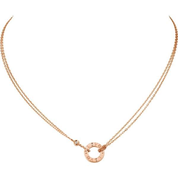 カルティエ CARTIER ネックレス ピンクゴールド 18K ダイヤモンド