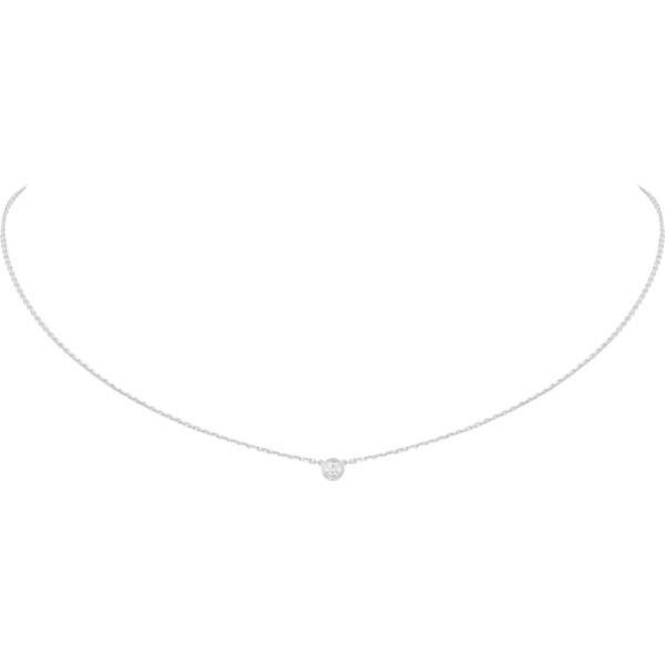カルティエ CARTIER ネックレス ホワイトゴールド 18K ダイヤモンド XS