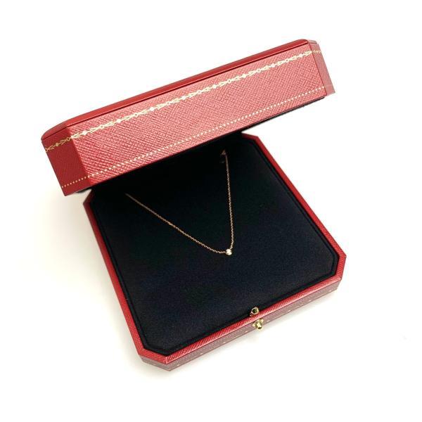 カルティエ CARTIER ネックレス ピンクゴールド 18K ダイヤモンド XS
