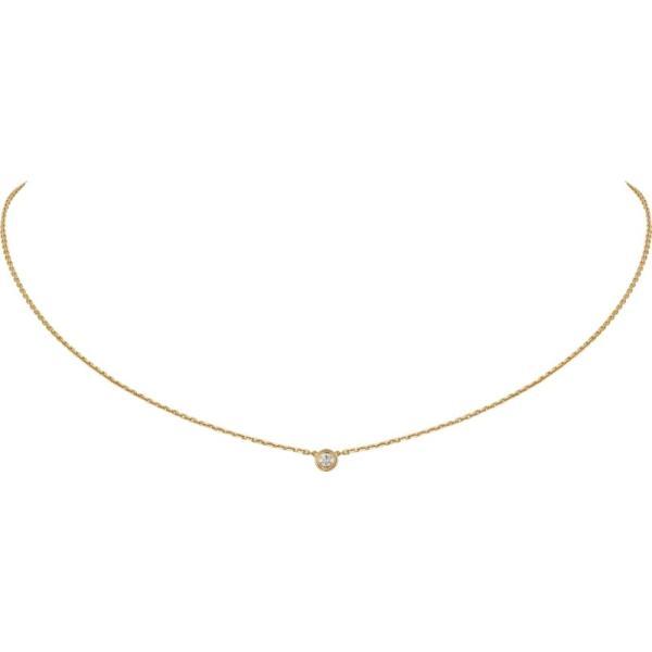 カルティエ CARTIER ネックレス イエローゴールド 18K ダイヤモンド XS