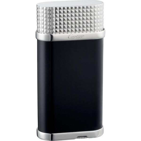 カルティエ CARTIER ライター ブラック シルバー