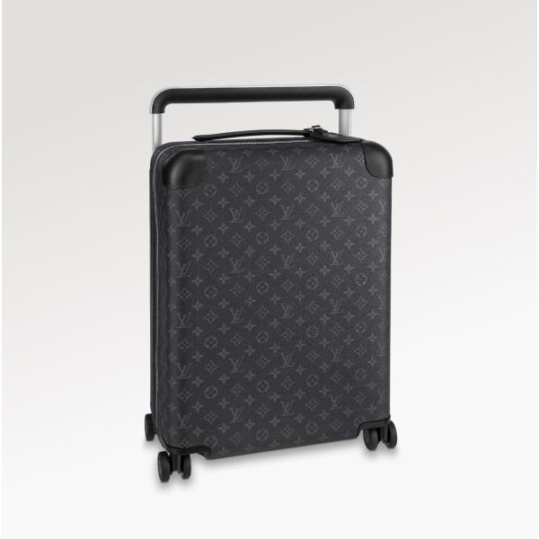 ルイヴィトン LOUIS VUITTON バッグ バック スーツケース モノグラム エクリプス ブラック グレー レザー 37L