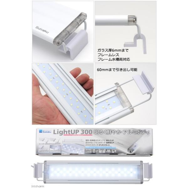 水作 ライトアップ 300 ホワイト 30cm水槽用照明 ライト 関東当日便|chanet|02