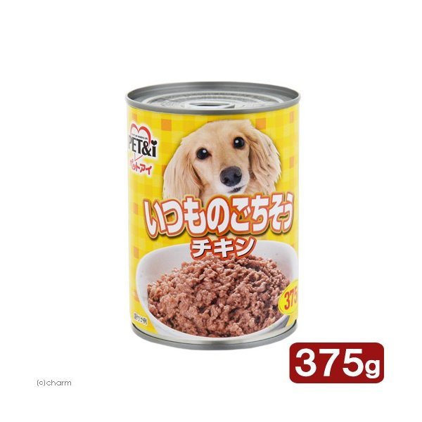 ペットアイ いつものごちそう チキン 375g ドッグフード 関東当日便 chanet