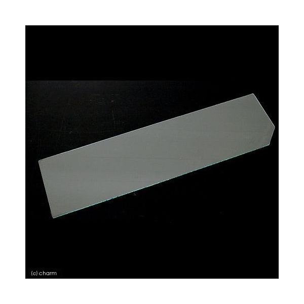 ニッソー ガラスフタ 上部フィルターを使用する時のNEWスティングレー106、6MK用(幅15.3×奥行56.7×厚さ0.3cm) 関東当日便|chanet