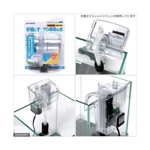 コトブキ工芸 kotobuki ミニフィットフィルターMF 水槽用外掛式フィルター 関東当日便|chanet|02