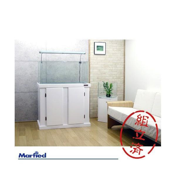 水槽台 ウッドキャビ ホワイト 900×450 90cm水槽用