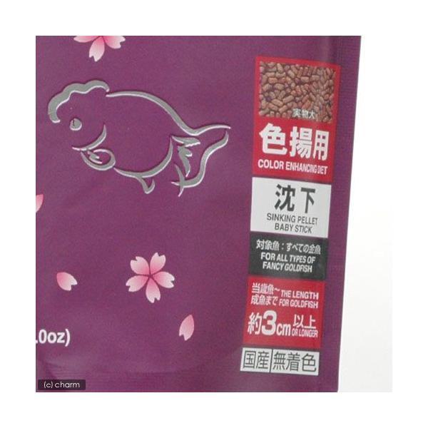 紫 キョーリン 咲ひかり 金魚 色揚げ用 沈下 200g 金魚のえさ 関東当日便|chanet|02