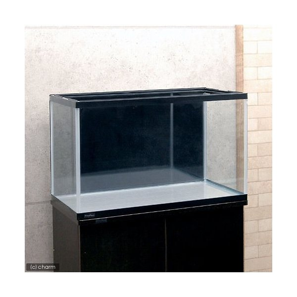 60cm水槽用 丈夫な塩ビ製バックスクリーン 60×35cm 黒