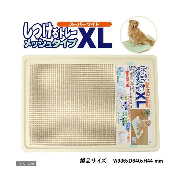 同梱不可・中型便手数料 簡易梱包 ボンビ しつけるトレーXLメッシュタイプ 犬 トイレ 才数170 お一人様1点限り chanet