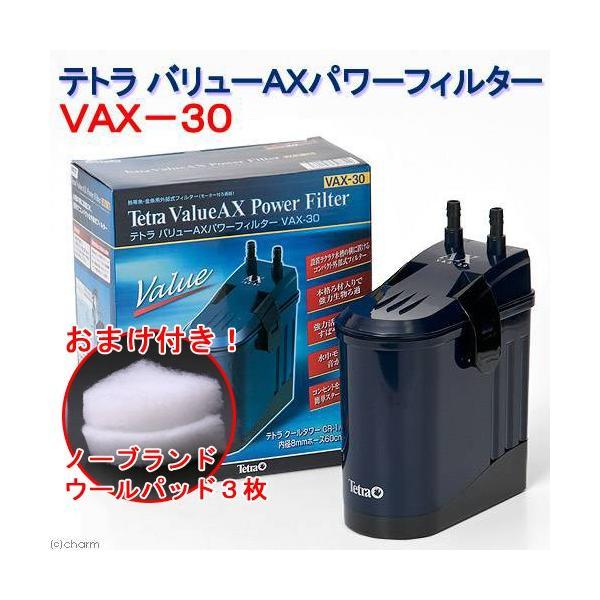 テトラ バリューAXパワーフィルター VAX−30 水槽用外部フィルター おまけ付き