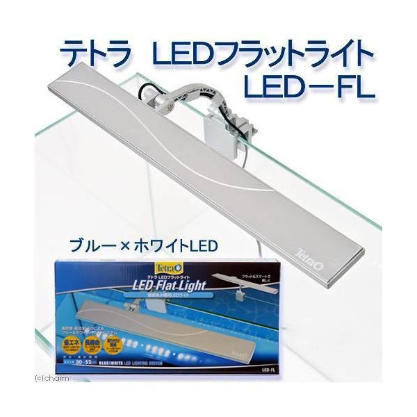 テトラ LEDフラットライト LED−FL 30〜52cm水槽用照明 熱帯魚 水草 アクアリウムライト 関東当日便 chanet