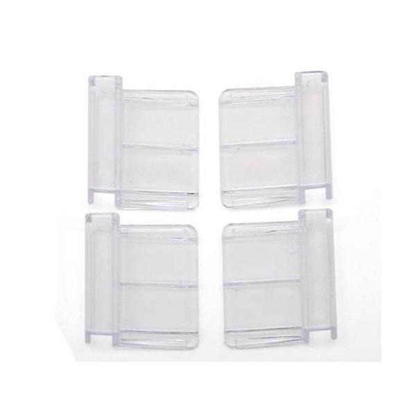 テトラ 6mm厚ガラス用フック(フタ受け) 4個入り ガラス厚6mm対応 交換パーツ 関東当日便|chanet