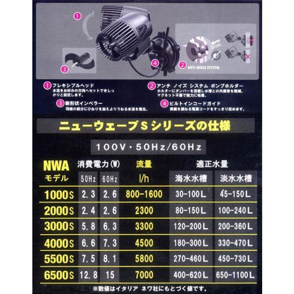 50Hz ネワウェーブ NWA3000S 50Hz(東日本用) 水流ポンプ 沖縄別途送料 関東当日便|chanet|03