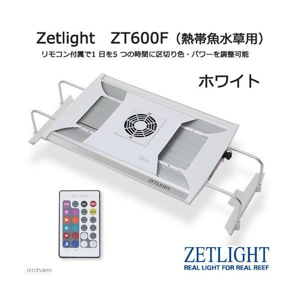Zetlight ZT600F ホワイト(熱帯魚 水草用) 水槽用照明 LEDライト 熱帯魚 水草 沖縄別途送料 関東当日便|chanet