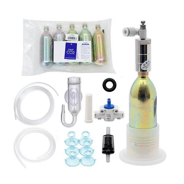 CO2フルセット チャームオリジナル コンパクトレギュレーター AセットDX(6mm対応) おまけ付き 沖縄別途送料 関東当日便|chanet