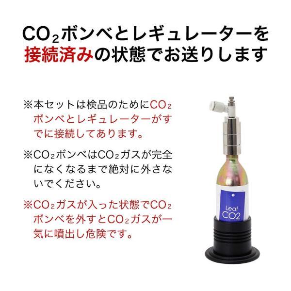 CO2フルセット チャームオリジナルコンパクトレギュレーターDセットDX(3mm対応電磁弁&タイマー付き)おまけ付き 沖縄別途送料 関東当日便|chanet|04