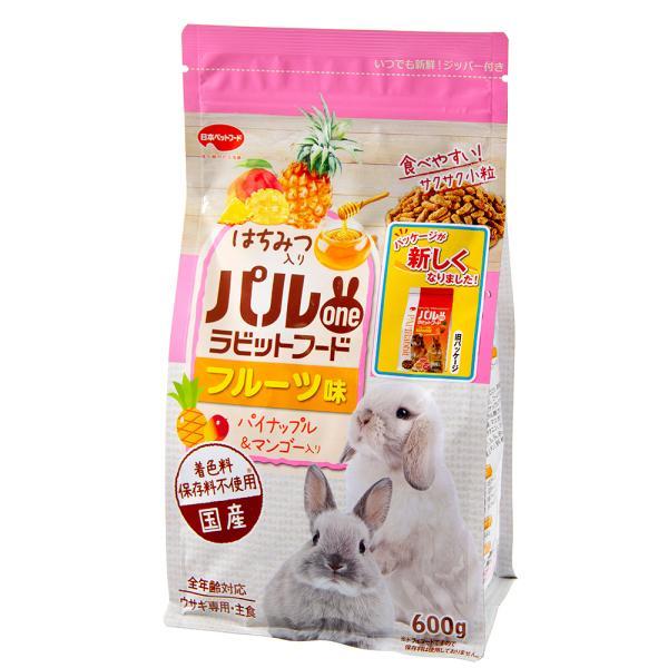 フィード・ワン パルone ラビットフード フルーツ味 パイナップル&マンゴー 600g 関東当日便|chanet