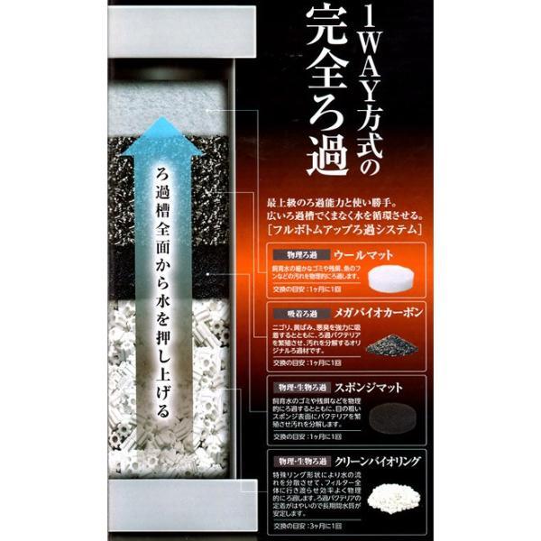 GEX メガパワー 2045 水槽用外部フィルター ジェックス 関東当日便|chanet|03