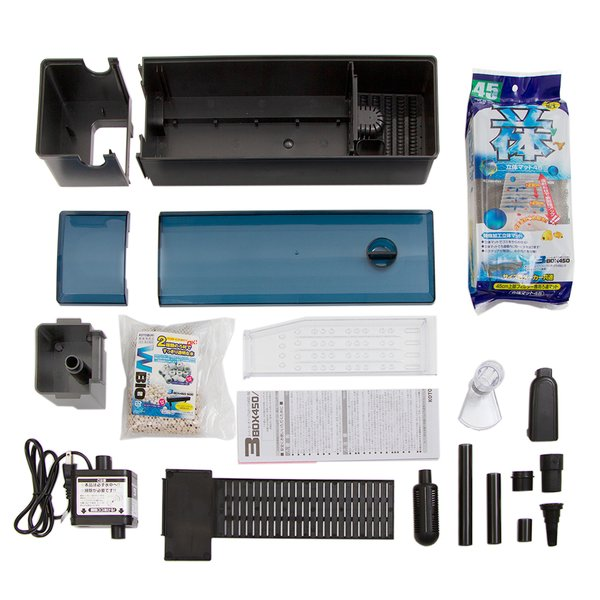 コトブキ工芸 kotobuki スーパーターボ トリプルボックス 450 45cm水槽用上部フィルター 関東当日便|chanet|03