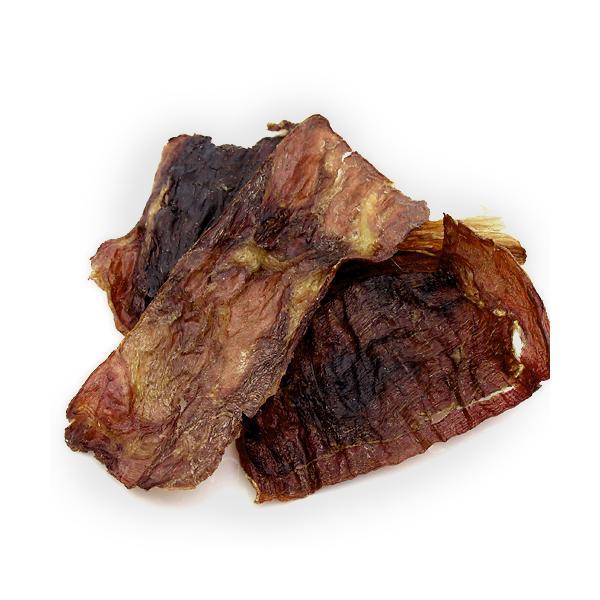 国産 うす〜くスライスして焼いた 猪肉のジャーキー 20g 無添加 無着色 犬猫用 PackunxCOCOA