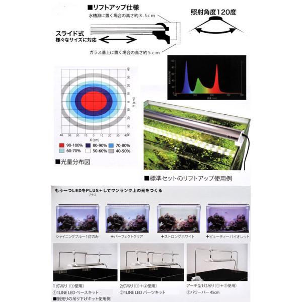 ZENSUI LED PLUS 45cm シャイニングブルー 水槽用照明 ライト 海水魚 サンゴ 沖縄別途送料 アクアリウムライト 関東当日便|chanet|03