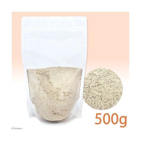 カキ殻粉末 粗目 大袋1袋 約500g 爬虫類 鳥 インコ サプリメント 添加剤
