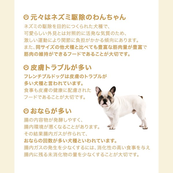 ロイヤルカナン フレンチブルドッグ 成犬用 9kg 3182550846042 沖縄別途送料 ジップ無し|chanet|03