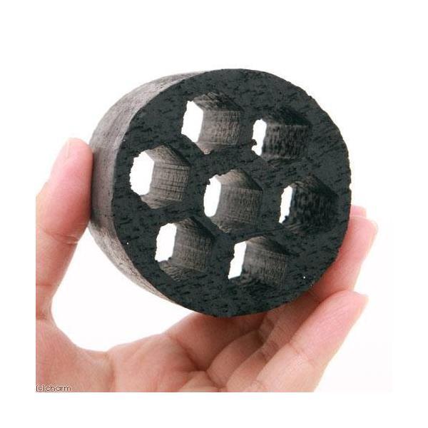 (海水魚)ろ材 海水用 多孔質シェルターろ材 HONEYCOMB(ハニカム)ブラック(バクテリア付き)(3個) 北海道・九州航空便要保温|chanet|02