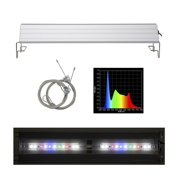 アクロ TRIANGLE LED GROW 450 2000lm Aqullo Series 45cm水槽用照明 沖縄別途送料 関東当日便|chanet