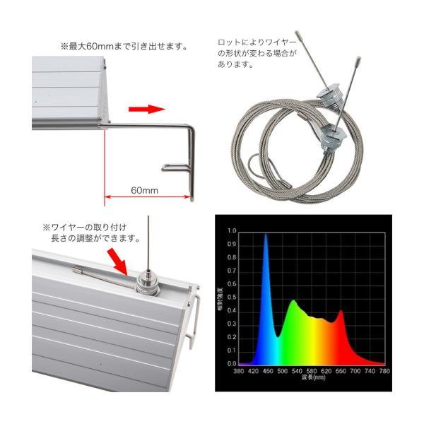 アクロ TRIANGLE LED GROW 450 2000lm Aqullo Series 45cm水槽用照明 沖縄別途送料 関東当日便|chanet|03