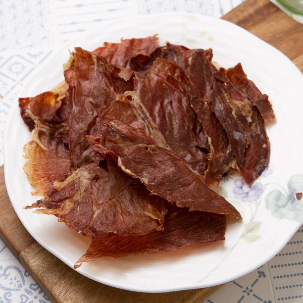 国産 うす〜くスライスして焼いたラム肉のジャーキー 30g 無添加 無着色 PackunxCOCOA