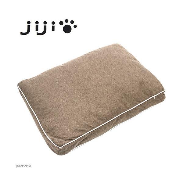 jiji スクエアクッション ブラウン 関東当日便 chanet