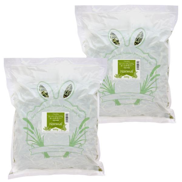新刈スーパープレミアムホースチモシーチャック袋600g×2袋(1.2kg)お一人様3点限り