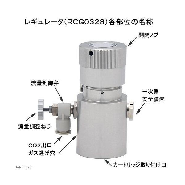 CO2フルセット(RCG0328) バブルカウントディフューザー仕様 CO2ボンベ&スタンド付き 沖縄別途送料 関東当日便|chanet|03