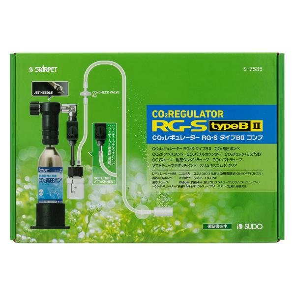 スドー CO2レギュレーター RG−S タイプB2コンプ 沖縄別途送料