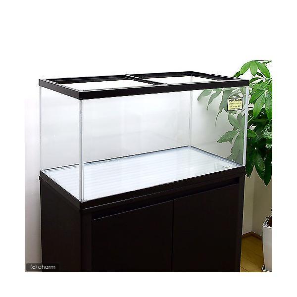 (超大型)90cm水槽 ニュークリスタル・カラフル水槽(90×45×45cm)(単体) 本州四国送料無料・同梱不可・代引不可 才数250