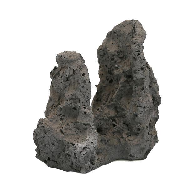 レイアウト用人工溶岩石 二山 L
