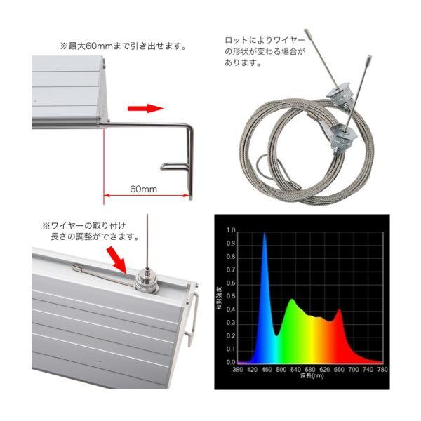 アクロ TRIANGLE LED GROW 600 3000lm Aqullo Series 60cm水槽用照明 沖縄別途送料 関東当日便|chanet|03
