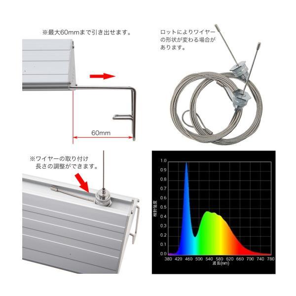 アクロ TRIANGLE LED BRIGHT 300 1950lm Aqullo Series 30cm水槽用照明 ライト 関東当日便|chanet|03