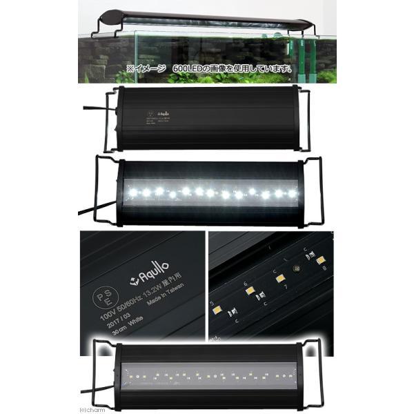 アクロ OVALブラック LED 300 1850lm BRIGHT Aqullo Series 30cm水槽用照明 ライト 熱帯魚 水草 関東当日便|chanet|02