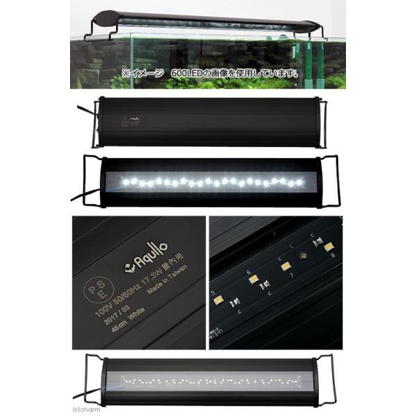 アクロ OVALブラック LED 450 2750lm BRIGHT Aqullo Series 45cm水槽用照明 ライト 熱帯魚 水草 関東当日便|chanet|02