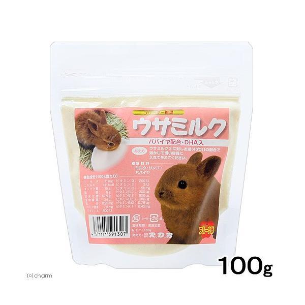 R.D.B ウサミルク フルーツ味 100g
